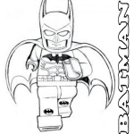 Coloring page lego batman