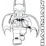 Coloring page lego batman