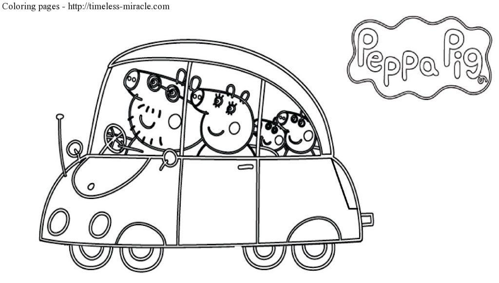 coloring pages peppa