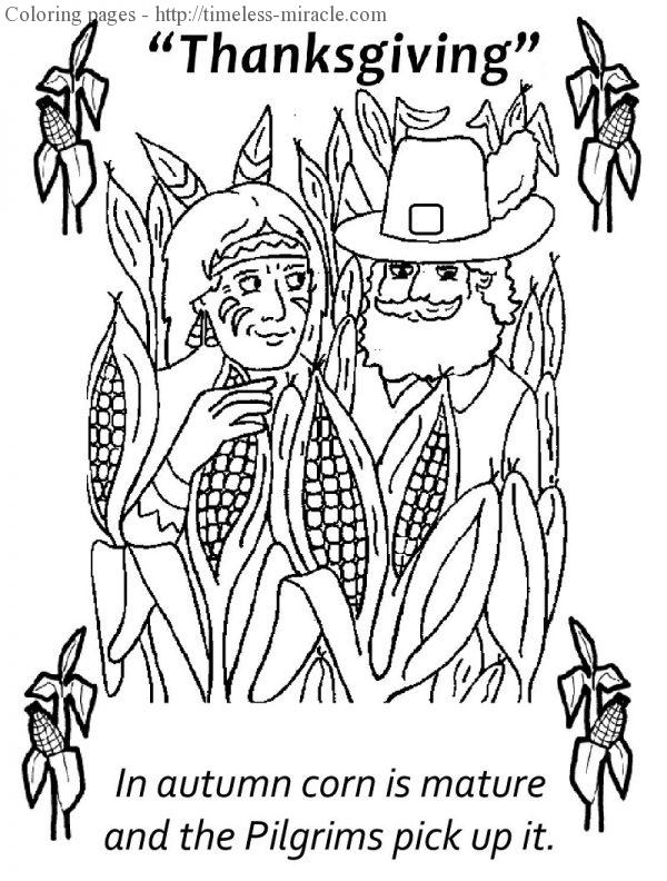 Happy thanksgiving coloring pages Thanksgiving  coloring page free (printables)