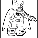 Lego batman coloring page to print