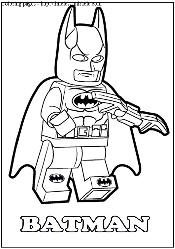lego dc coloring pages - lego batman coloring pages to print coloring page