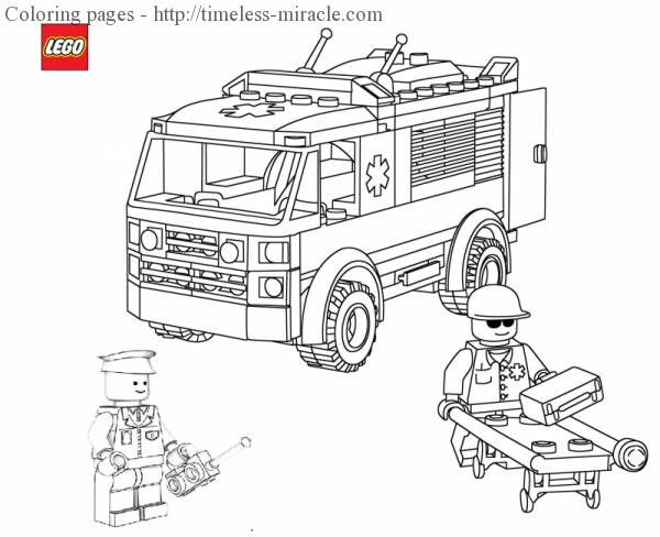 lego car coloring page