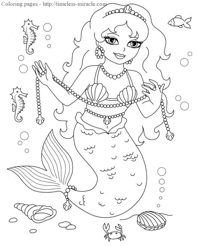coloring pictures for girls