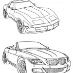 Cool cars coloring pages