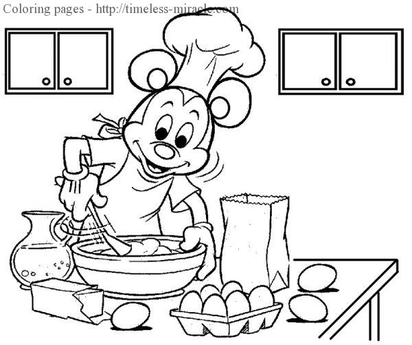 Mickey mouse coloring sheets Mickey mouse  coloring page free (printables)