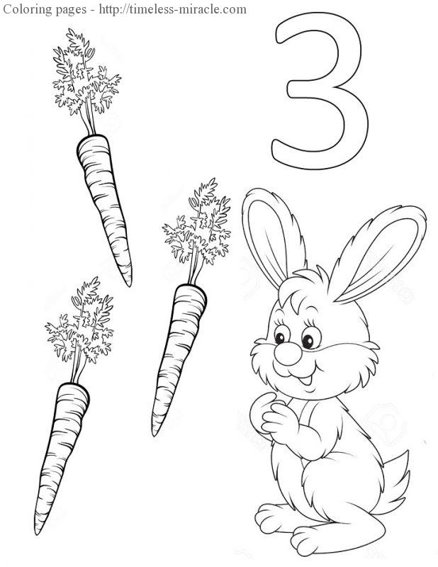 Number coloring pictures Number  coloring page free (printables)
