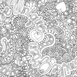 free coloring page for adults printable hard to color