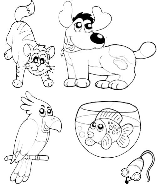 Coloring animals release 2 Animal  coloring page free (printables)