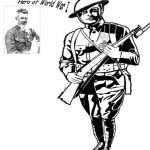 World war 1 coloring page