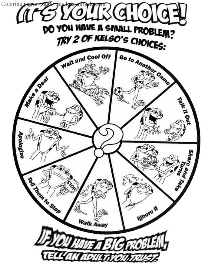 Conflict resolution worksheet