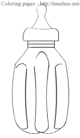 water bottle coloring page rel.2