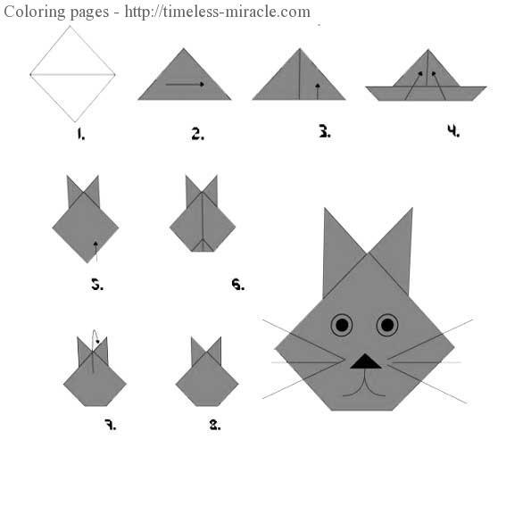 easy rabbit origami