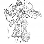 Free printable transformers coloring pages