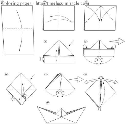 How to build a paper boat
