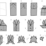 Origami frog instructions printable