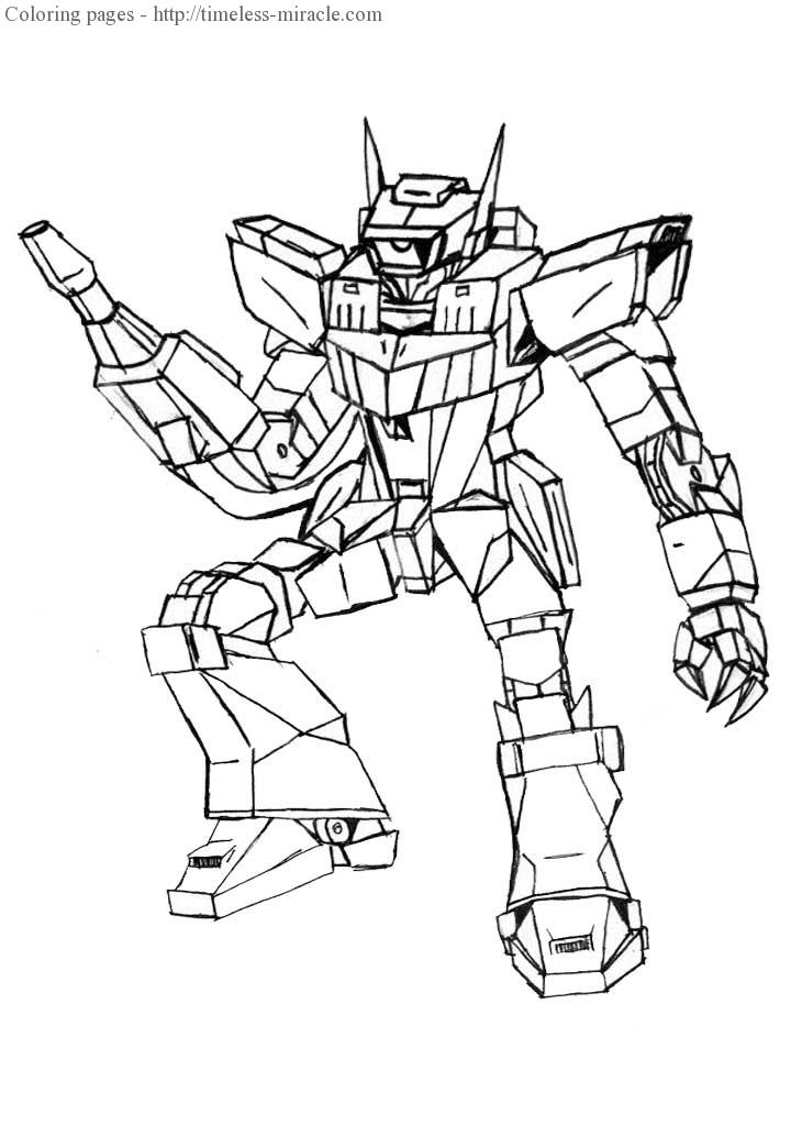 Transformer coloring sheets Transformers  coloring page free (printables)
