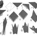 Tutorial origami crane